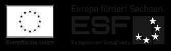 Logo Europa fördert Sachsen ESF