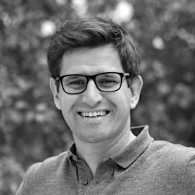 Portrait Michael Liebmann von der Doo GmbH in schwarz weiß